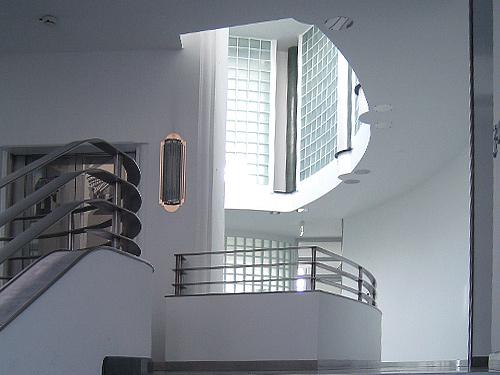 Attractive Art Deco Architekt Lehmann Interior Design Treppenhaus Edelstahl Gelaender  Aufzug 2